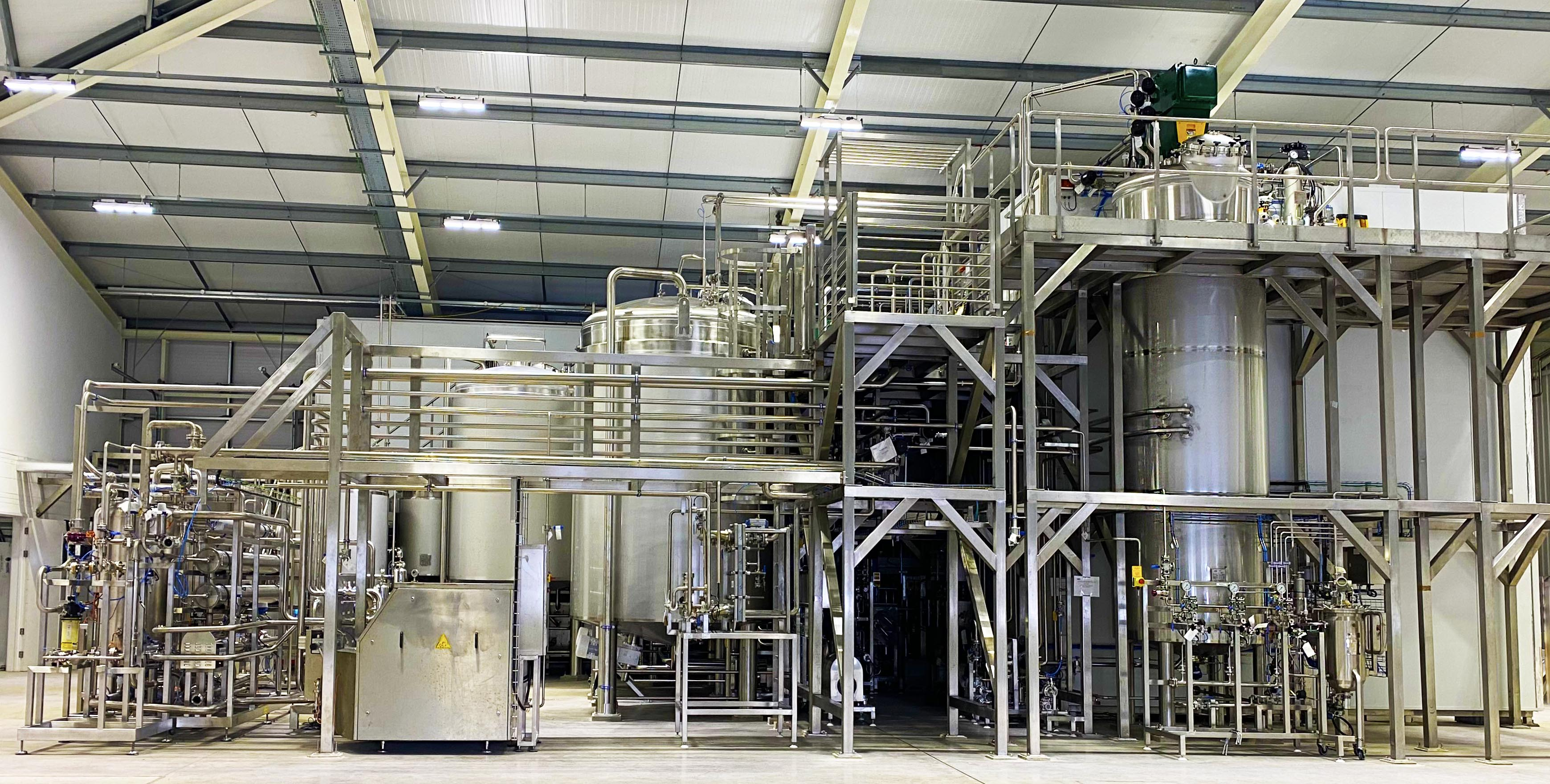 Enzyme Manufacturing Plant