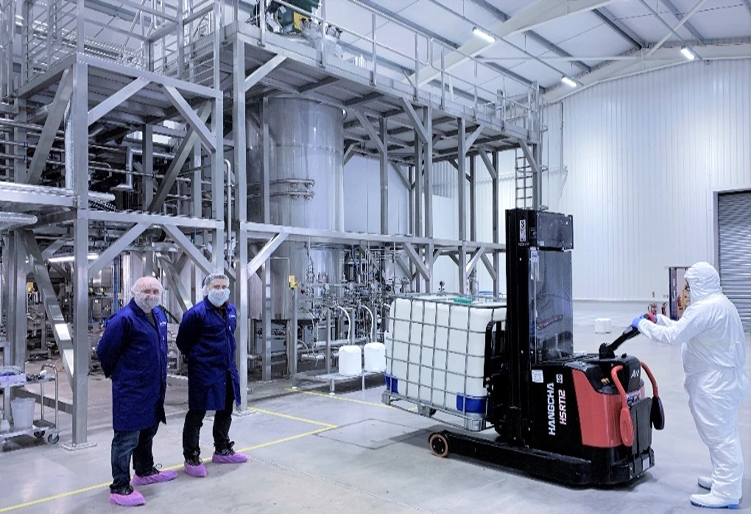 Biocatalysts Enzyme Manufacturing Plant